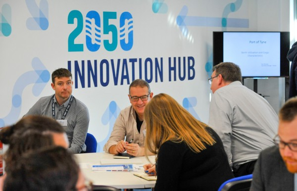 Tech event at the 2050 Innovation Hub