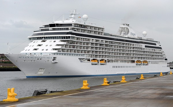 Port of Tyne welcomes the most luxurious ship at sea