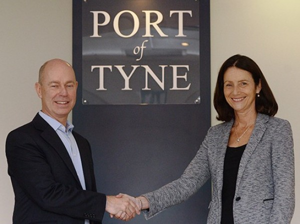 Carolyn Fairbairn, CBI Director General visits Port of Tyne