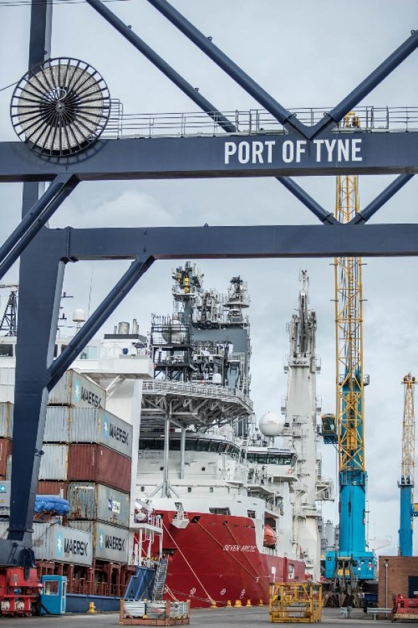 Port of Tyne announces return to growth