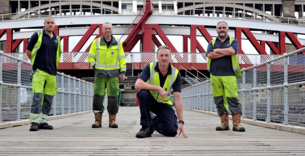 Port of Tyne celebrates 150 years of the Swing Bridge as part of the Great Exhibition the North