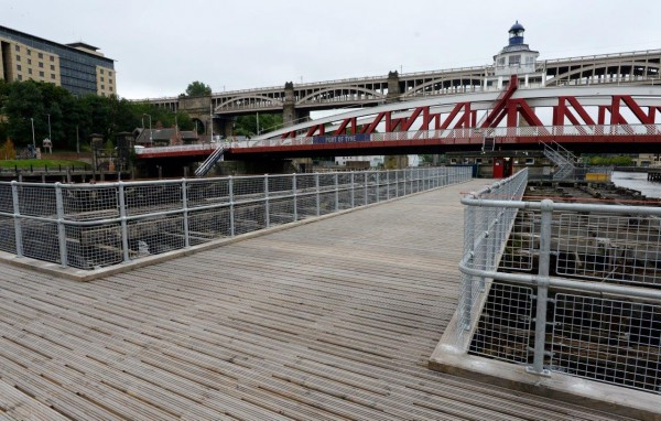 Port of Tyne has renovated the Swing Bridge as part of a lasting legacy of the Great Exhibition of the North