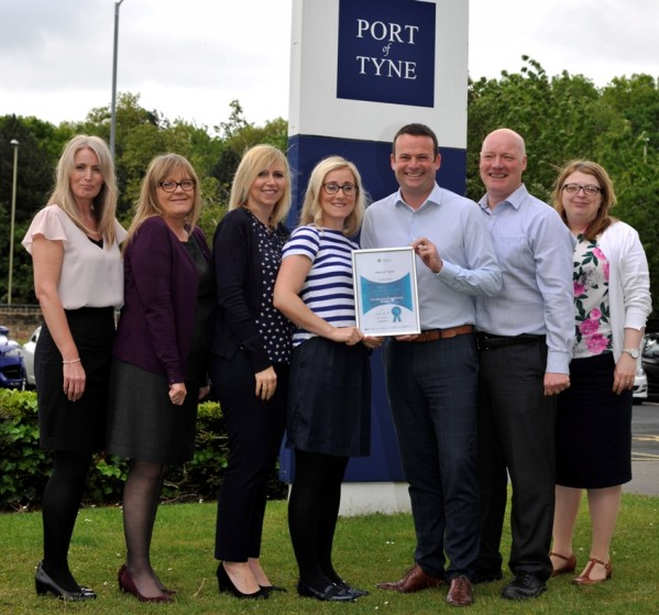 Port of Tyne Better Health at Work Award