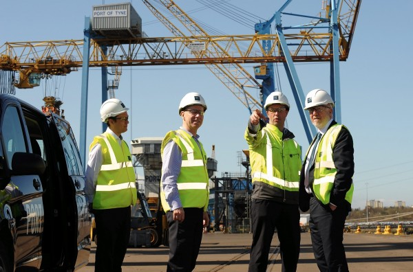 Shadow Transport Secretary of State for Transport visits major UK Port