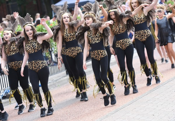 Monsters takeover the South Tyneside Summer Parade