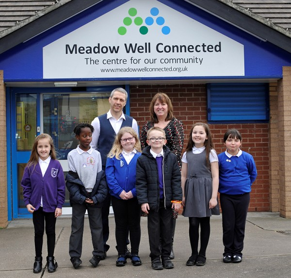 Port of Tyne gives its support to Meadow Well Connected kids club