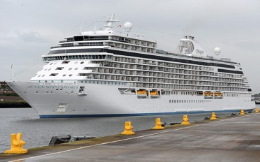 Featured image for Port of Tyne welcomes the most luxurious ship at sea