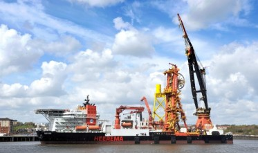 Featured image for OFFSHORE WIND TURBINE PROJECT UTILISES PORT OF TYNE