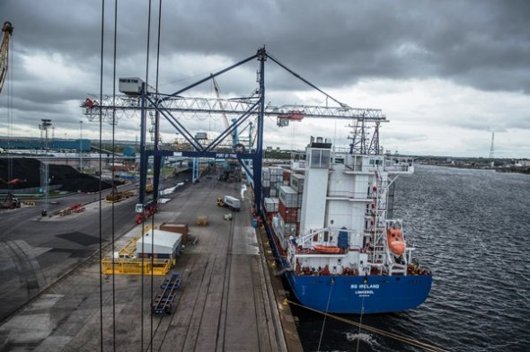 Image for PORT OF TYNE VOTED PORT OPERATOR OF THE YEAR