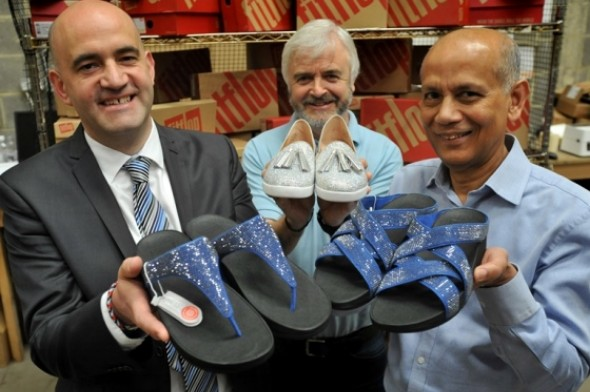 Image for BIOMECHANICALLY ENGINEERED FASHION FOOTWEAR SPARKS  NEW BUSINESS FOR PORT OF TYNE