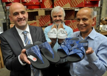 Featured image for BIOMECHANICALLY ENGINEERED FASHION FOOTWEAR SPARKS  NEW BUSINESS FOR PORT OF TYNE