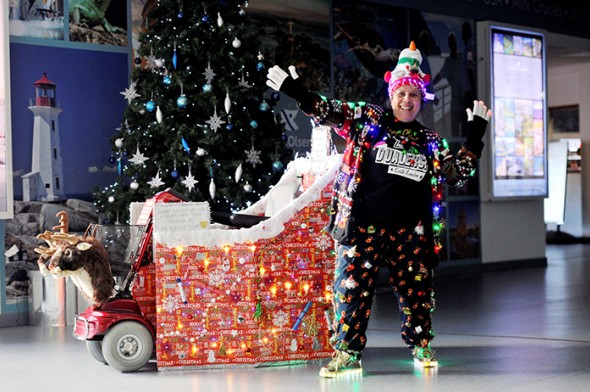 Image for PORT OF TYNE LIGHTS UP CHRISTMAS JUMPER DAY