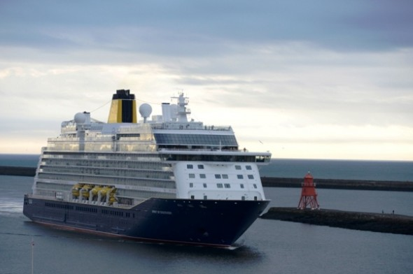 Image for PORT OF TYNE TO WELCOME SAGA'S SPIRIT OF DISCOVERY ON HER MAIDEN VOYAGE