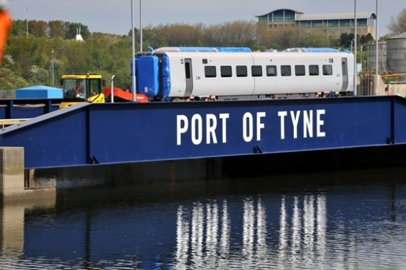 Image for EXPRESS DELIVERY AT THE PORT OF TYNE