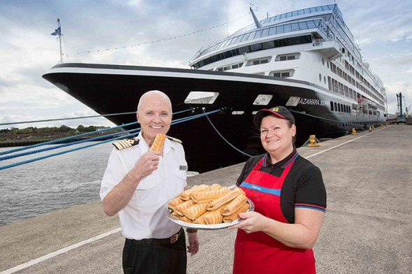 Image for CAPTAIN ORDERS BOAT LOAD OF GREGGS FOR LUXURY LINER