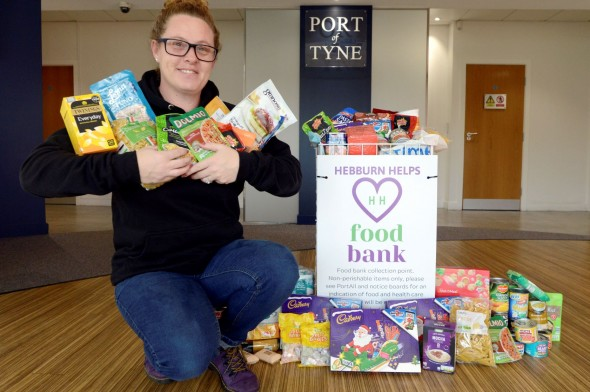 Image for LOCAL FOOD BANKS RECEIVE BOOST FROM THE PORT OF TYNE