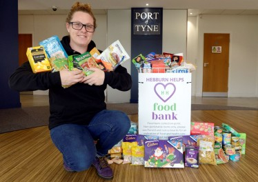 Featured image for LOCAL FOOD BANKS RECEIVE BOOST FROM THE PORT OF TYNE