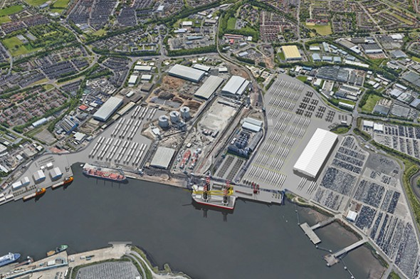 Image for PORT OF TYNE LAUNCHES TYNE CLEAN ENERGY PARK TO BOOST NORTH EAST'S RENEWABLES INFRASTRUCTURE